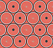Seamless Background Pattern With Bicycle Wheels
