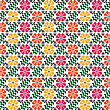 Seamless Ethnic Pattern, Illustration In Vector Format stock illustration
