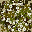 Seamless Floral Pattern With Clovers, Background Tile For Saint Patrick's Day