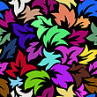 Seamless Floral Pattern. EPS 10 Vector Illustration Without Transparency