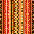 Seamless Geaometric Pattern In Colors, Tribal Design