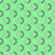 Seamless Gear Pattern. Industrial Background. Mechanical Tool