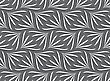 Seamless Geometric Background. Modern Monochrome 3D Texture. Pattern With Realistic Shadow And Cut Out Of Paper Effect.Ornament With White Geometric Floral Shapes On Gray Background