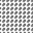 Seamless Geometric Background. Modern Monochrome 3D Texture. Pattern With Realistic Shadow And Cut Out Of Paper Effect.Geometrical Pattern With Gray And Black Squares