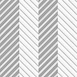 Seamless Geometric Background. Modern Monochrome 3D Texture. Pattern With Realistic Shadow And Cut Out Of Paper Effect.Geometrical Pattern With Perforated Zigzag Lines With Folds