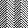 Seamless Geometric Background. Modern Monochrome 3D Texture. Pattern With Realistic Shadow And Cut Out Of Paper Effect.Geometrical Pattern With Gray And Black Zigzag Lines With Folds