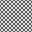 Seamless Geometric Background. Modern Monochrome 3D Texture. Pattern With Realistic Shadow And Cut Out Of Paper Effect.Geometrical Pattern With White And Black Squares