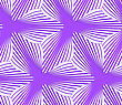 Seamless Geometric Background. Pattern With Realistic Shadow And Cut Out Of Paper Effect.Colored.3D Colored Purple Geometrical Striped Flower