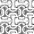 Seamless Geometric Pattern .Realistic Shadow Creates 3D Look. Light Gray Colors.Cut Out Paper Effect.Perforated Stripy Grid