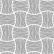 Seamless Geometric Pattern .Realistic Shadow Creates 3D Look. Light Gray Colors.Cut Out Paper Effect.Perforated Strips Pin Will