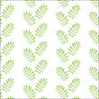 Seamless Hand Drawn Pattern With Leaves, Vector Format