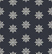 Seamless Monochrome Spider Web Pattern - Vector