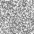 Seamless Mosaic Background Black And White Colored With Rough Edges stock illustration