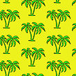 Seamless Palm Tree Pattern stock vector