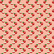 Seamless Pattern With Apples On The Green Background.(can Be Repeated And Scaled In Any Size)