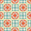 Detail Seamless Pattern stock illustration