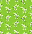 Seamless Pattern With Tropical Palm Trees. Summer Wallpaper - Vector stock illustration
