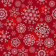 Seamless Snowflakes Background For Winter And Christmas Theme stock illustration