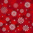 Seamless Snowflakes Background For Winter And Christmas Theme. For Easy Making Seamless Pattern Just Drag All Group Into Swatches Bar, And Use It For Filling Any Contours.