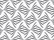 Seamless Stylish Geometric Background. Modern Abstract Pattern. Flat Monochrome Design.Repeating Ornament Gray Floral