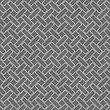 Seamless Stylish Geometric Background. Modern Abstract Pattern. Flat Monochrome Design.Monochrome Pattern With Gray Rectangles With Rounders Corners In Diagonal Order