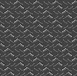 Seamless Stylish Geometric Background. Modern Abstract Pattern. Flat Monochrome Design.Monochrome Pattern With Gray And Black Dotted Sea Waves Texture