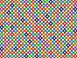 Seamless Tile Pattern With Color Donuts