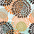 Seamless Vector Floral Pattern stock vector