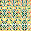 Seamless Wallpaper Pattern In Yellow