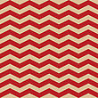 Seamless ZigZag Chevron Pattern. Red And White Vector Background