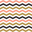 Seamless Zigzag Pattern In Pastel Colors. Vector Illustration