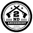 Second Amendment To The US Constitution To Permit Possession Of Weapons. Vector Illustration
