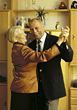 Seniors Senior Couple Dancing stock photography