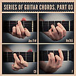 Series Of Guitar Chords With Symbols. Part 03 stock image