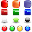 Set Of Glossy Vector Internet Buttons For Web Design Use