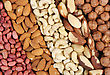 Set Of Nuts - Peanuts, Cashews, Almonds, Brazil Nuts, Walnuts