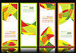 Set Of Abstract Banners stock illustration