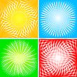 Set Of Beams Backgrounds