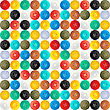 Sewing Button Seamless Pattern Design