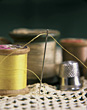 Sewing Supplies stock photography
