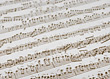 Sheet Music Background stock image