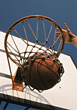 Shooting a Basketball into the Hoop
