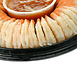 Appetizers Shrimps , Close Up stock photography