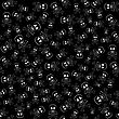 Skull Cross Bones Seamless Pattern Isolated On Black stock vector