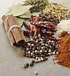 Spices And Herbs Collection,Close Up stock image