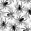 Spiders Pattern, Abstract Seamless Texture