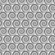 Spiral Line Seamless Background. Ornamental Endless Texture. Oriental Geometric Ornament