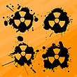 Splats With Nuclear Warning Signs, Design Elements
