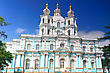 Orthodoxy St. Nicholas Naval Cathedral . St. Petersburg. Russia stock photography