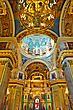 ST. PETERSBURG, RUSSIA FEDERATION - JUNE 29:Interior Of Saint Isaac's Cathedral In St Petersburg, Russia . Picture Takes In Saint-Petersburg, Inside Saint Isaac's Cathedral On June 29, 2012 stock photography